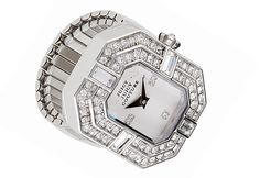 Juicy Couture Timepieces presents the new Marianne Luxe ring-watch. The Swarovski crystal-encrusted piece is selling into retail now and is expected to be a top seller for Christmas.