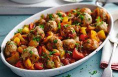 Slimming World's turkey meatballs in Creole sauce