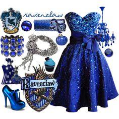 """Hogwarts Prom Series - Ravenclaw"" by skittlesrtasty on Polyvore"