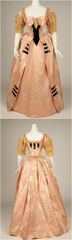 Ball gown by Jacques Doucet, 1897, at the Met. See: http://www.metmuseum.org/collections/search-the-collections/93763?img=0