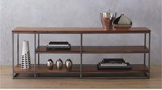 Modern storage furniture designed for urban living. Browse for sleek credenzas, home bar carts, modern dressers, cabinets and more. Modern Storage Furniture, Media Furniture, Living Room Furniture, Home Furniture, Furniture Design, Furniture Makeover, Vintage Furniture, Dining Room Storage, Entryway Storage
