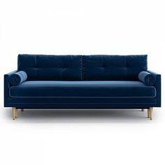 Scandinavian Sofas, Navy Sofa, 3 Seater Sofa Bed, Sofa Colors, Colours, Bed Reviews, Comfortable Sofa, Modern, Interior