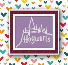 BoGo Pattern cross stitch Hogwarts Instant Download by LolitaMade