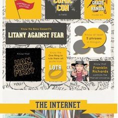 50 things a geek should know Franklin Richards, Digital Trends, Lotr, Revolution, Nerd, Geek Stuff, Wisdom, Technology, Learning