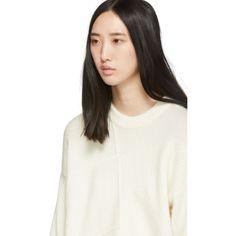 3.1 Phillip Lim: ホワイト ウール Lofty バスケット セーター | SSENSE 日本 3.1 Phillip Lim, V Neck, Tops, Design, Women, Fashion, Moda, Fashion Styles
