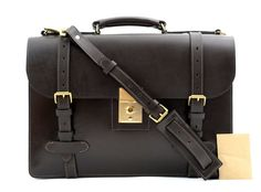 The buckle straps really top off this #Brioni dark #brown #leather attache!     Want your own? http://www.frieschskys.com/bags     #frieschskys #men #mensfashion #fashion #mensstyle #style #moda #menswear #dapper #stylish #MadeInItaly #Italy #couture #highfashion #designer #shopping