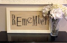 Good Life inspiration by Aimee Clare:  Part of cultivating a good life is to always remember.