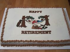 Retirement Gifts for Men The gifts for retirement should be such that they allow the person to make Retirement Gifts For Mom, Retirement Cakes, Retirement Parties, Retirement Ideas, 50th Wedding Anniversary, Anniversary Ideas, Game Of Thrones Party, Party Themes, Party Ideas