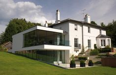 Love the mix of old and new. Gregory Phillips Architects - Guildford - Contemporary extension to an existing period Property