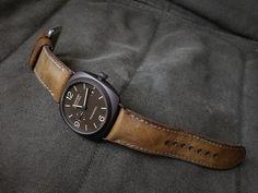 Fancy - vintage strap on Panerai PAM 505 Panerai Radiomir, Fancy, Watches, Stuff To Buy, Accessories, Vintage, Fashion, Wrist Watches, Moda