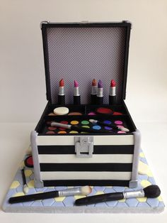 Make up box birthday cake cakecentral