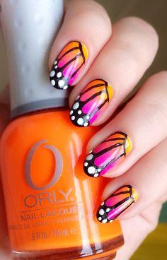 20 Beautiful Gradient Nail Art Designs - Be Modish - Be Modish