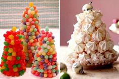 Candy trees for kids tables
