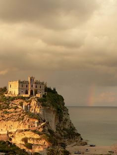 Tropea , province of Vibo Valentia , Calabria region Italy Tropea Italy, Calabria Italy, Places Around The World, Around The Worlds, Wonderful Places, Beautiful Places, Southern Italy, Rome Travel, Trieste