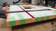 Router Table and Fence : 12 Steps (with Pictures) - Instructables Making A Router Table, Homemade Router Table, Router Table Top, Router Table Fence, Router Table Plans, Router Woodworking, Woodworking Projects, Diy Projects, Project Ideas
