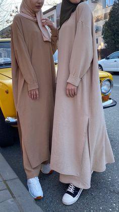 Modest Fashion Hijab, Street Hijab Fashion, Casual Hijab Outfit, Hijab Chic, Muslim Fashion, Casual Outfits, Mode Abaya, Mode Hijab, Hijab Fashion Inspiration