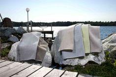 Villa linen terry towels / Jokipiin Pellava