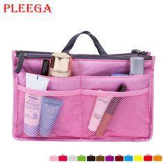 PLEEGA Brand Women Make Up Organizer Bag Multi Functional Cosmetic Bags Women Men Casual Travel Bag Cosmetic Zipper Storage Bags