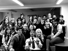 Love these people from Wolfblood Season 2 set.
