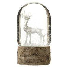 Snow Globe with Reindeer