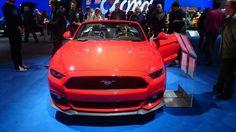 Mustang en rouge