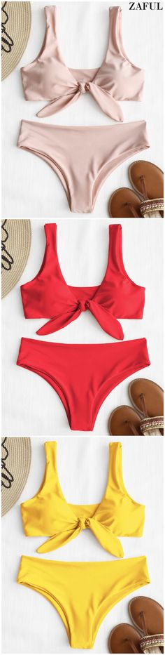 Up to 80% OFF! Front Knot Padded Bikini Set. #Zaful #Swimwear #Bikinis zaful,zaful outfits,zaful dresses,spring outfits,summer dresses,Valentine's Day,easter,super bowl,st patrick's day,cute,casual,fashion,style,bathing suit,swimsuits,one pieces,swimwear,bikini set,bikini,one piece swimwear,beach outfit,swimwear cover ups,high waisted swimsuit,tankini,high cut one piece swimsuit,high waisted swimsuit,swimwear modest,swimsuit modest,cover ups @zaful Extra 10% OFF Code:ZF2017