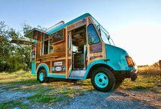 Hula Girl Truck - vintage woody