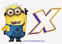 Divertido Alfabeto de los Minions. | Oh my Alfabetos!