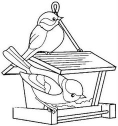 RISCO DE PASSAROS Bird Coloring Pages, Adult Coloring Pages, Coloring Pages For Kids, Coloring Sheets, Coloring Books, Bird Drawings, Easy Drawings, Hand Embroidery Patterns, Digi Stamps