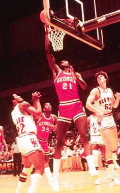 College Basketball, Basketball Court, Dominique Wilkins, Atlanta Hawks, Georgia, Film, Highlight, Twitter, Vintage