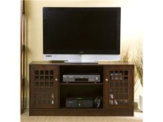 Shop for SEI Narita Espresso Media Stand, MS9870, and other Home Entertainment Entertainment Centers at Interior Furniture Resources in Harrisburg, PA. Add a contemporary espresso media stand to complement your new flat panel TV. Capable of displaying up to a 50inches flat screen, this spacious stand can store all of your media and home theater components in style.