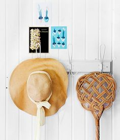 A hatrack in the cottage entryway Cottage Entryway, Beautiful Homes, Bon Iver, Simple, Inspiration, Dreams, Garden, Summer, Decor