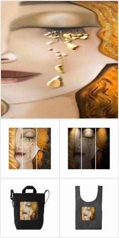 My Klimt Serie : Gold