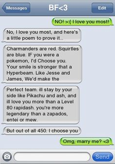 Pokemon love poem <3