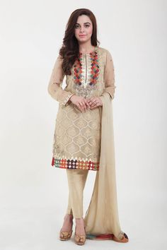 Latest Designs Of Pakistani Dresses For Eid 2016-2017 | BestStylo.com