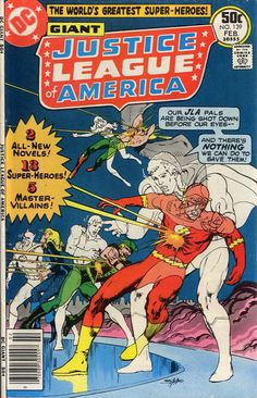 A Justice League double feature and a Neal Adams cover all new? I'm in Nirvana! FIRST! Strange things are happening to League ally Adam Strange (talks to strangers: writer Cary Bates). LAST BUT NOT LEAST! Frozen felons bring global warming on (I'm giving the Avengers a cold cut: writer Steve Englehart).