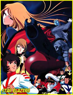 Space Battleship Yamato is the original Japanese name of this famous anime which premiered in Star Blazers is the American adaptation and appeared on American TV in September 1979 Manga Anime, Sci Fi Anime, Old Anime, Akira, Sailor Moon, Christopher Mcquarrie, News Anime, Battle Of The Planets, Star Blazers