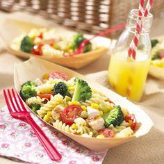 Broccoli and Chicken Pasta Salad