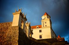 Bratislava castle is also favorite place among photographers, offering them countless possibilities for creative photo shooting...
