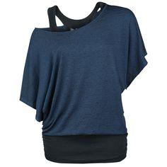 Burnout Double Layer - Camiseta por Black Premium by EMP