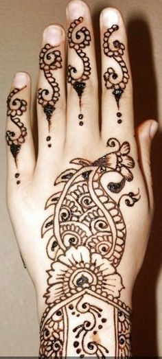 Henna Designs for Hand Feet Arabic Beginners Kids Men : Henna Designs For Hands Easy For Hand Feet Arabic Beginners Kids Men