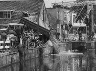 Demping Hoogeveense vaart eind jaren 60 begin 70