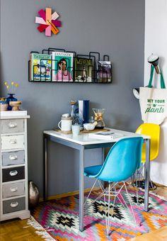 Tapetes coloridos (pela casa toda)