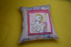 My Little Pony MLP inspired tooth fairy pillow by mailebaldwin