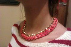 collar trenzado