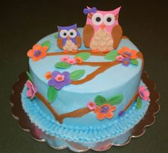 tarta de BUHO con funda