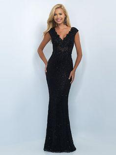Trumpet/Mermaid Short Sleeves V-neck Lace Sweep/Brush Train Sequins Dresses