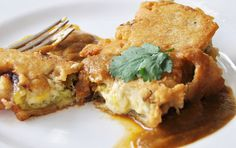 <p>This recipe for chiles rellenos is delicious, decadent, and entirely plant-based!</p>