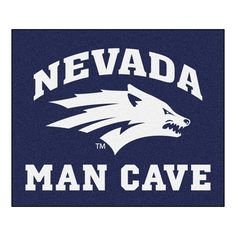 Nevada Wolf Pack Man Cave All-Star Floor Mat (34in x 45in)