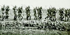 The Kings African Rifles on the march in Nairobi for a deployment in circa 1905 Nairobi, East Africa, Black History, Kenya, World War, Survival, African, Passion, Culture